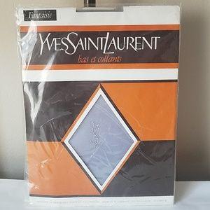 RARE YSL Yves Saint Laurent pantyhose M L